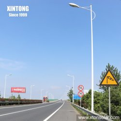 Оцинкованный один двойной рычаг индикатор AC солнечной энергии на улице дорожного освещения на улице полюс 3 м 5 м 6 м 8 м 10m