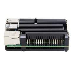 Dissipador de calor com liga de alumínio Raspberry Pi 4 Caso Sem ventoinhas para a framboesa Pi 4, Modelo B