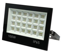 승진 옥외 IP65는 프로젝트 반사체 호리호리한 100W LED 투광램프를 방수 처리한다