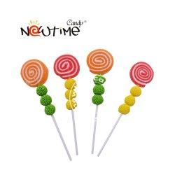NTQ20005 농장 묵 Lollipop 동물성 고무 같은 지팡이