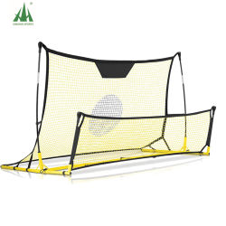 Doppio lato Soccer Goal Rebounder Soccer Goal Practice Net