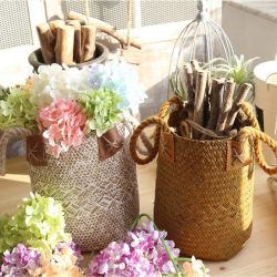 Горячая продажа современных стола Craft корзину цветов с помощью рукоятки творческих корзину цветов