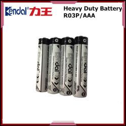 中国の製造AAA R03p亜鉛カーボン電池の提供OEMサービス