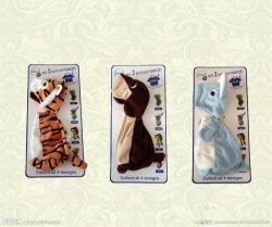 Hochwertige Cute Gefüllte Benutzerdefinierte Plüsch Gefüllte Tier Reinigungsflasche Halter