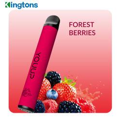 다중 색깔은 처분할 수 있는 소형 800puffs 건강 전자 담배를 선택한다