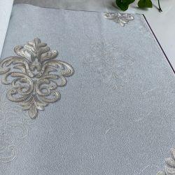 Document van de Muur van pvc van de luxe het Waterdichte Milieuvriendelijke Bloemen 3D In reliëf gemaakte