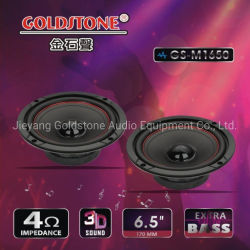 Goldstone 6.5inchの中央車の可聴周波スピーカー4ohmハイファイ車のスピーカー