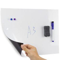 PET 접착식 드라이 지우기 접이식 마그네틱 화이트보드