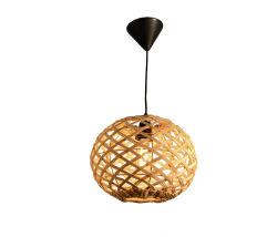 [بلس-008] طبيعة [هندمد] خيزرانيّ عاكس نور زخرفة مدلّاة إنارة لأنّ مطعم قهوة متجر