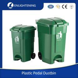 50 L в мусорные контейнеры пластиковые ведра корзину пластмассовые лотки Wheelies переработки пластиковых отходов мусор вывоз мусора мусор педали управления подачей топлива для повторного использования отходов Бен с колесами для изготовителей оборудования для использования вне помещений