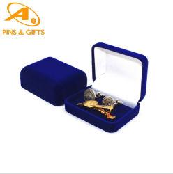 Alta qualità OEM Gioielli uomo Prezzo personalizzato Design metallo affascinante Maglia in argento smaltato in acciaio inossidabile bracciale regalo Freman Cufflinks Con confezione regalo