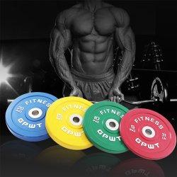 La competencia de colores OEM paragolpes el levantamiento de pesas las planchas de resistencia y pesas
