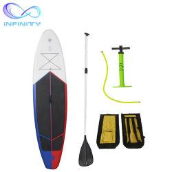 Palette gonflable Conseil d'usine de haute qualité de l'eau gonflable Jeux de sport surf Sup Stand up Paddling board planche de surf