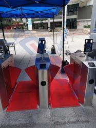 ゲート / 入口アクセス制御システム温度異常音声アラーム温度計は、を使用しています 7 インチ 8 インチ LCD 顔 / マスク認識