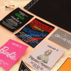 초음파 절단의 직조 기계 의류 맞춤형 우븐 라벨 의류 Tag Factory Direct Selling(출하 시 직접 판매