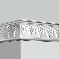 Esclusivo stampo in poliuretano bianco scolpito, con struttura a corona flessibile, stile vintage Modanatura decorativa in PU per decorazioni ad arco