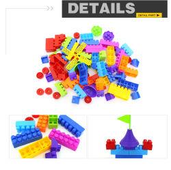 Детские игрушки по вопросам образования пластиковые здание интеллектуальной большие блоки игрушка