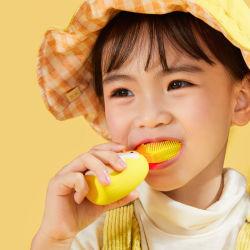 Toothbrush elettrico sonico a forma di U della setola molle impermeabile di cura del bambino