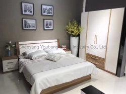 أثاث مصنع غرفة نوم مباشرة وتصميم حديث ومطاط خشب خزانة فندق