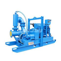 """Zoll-Dieselmotor-Vakuumgrundieren des Yonjou YP-6 """" Zoll-8 """" unterstützte den automatischen Selbst-Hauptkörper, der wohler Punkt-entwässernpumpe handhabt (für Bergbau/Industrie/Aufbau)"""