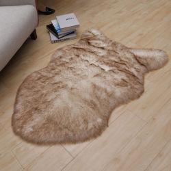 Мягкие Shaggy Фо Sheepskin ковер коврик для домашнего текстиля