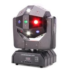 DJ оборудование импульсная лампа дальнего света лазера 3в1 Magic DJ Disco шарик светодиодный лазер перемещения передних фар