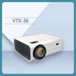 Жк-индикатор портативный проектор 1800 лм мультимедийные проекторы для домашнего кинотеатра 1080P