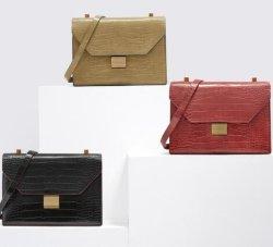 Migliore borsa di cuoio di vendita della spalla delle signore del Traversa-Corpo dell'unità di elaborazione Leautiful di Croco di alta qualità
