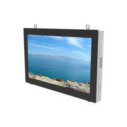 Монтироваться на стену WiFi сенсорный экран для использования вне помещений ЖК-дисплей рекламы