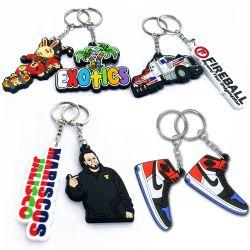 هدية تذكارية شخصية Bt21 3D BTS Sneaker كرة السلة الناعمة شعار السيارة المطاطية من PVC Air Jordan 1 Resin Holder Silicone أحذية كرة القدم أحذية الريشة سلاسل المفاتيح