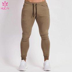 Diseño de moda de poliéster algodón largo colocar a los hombres pantalones de deporte al aire libre