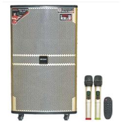 De Stereo PRO Geschilderde Houten Actieve Draagbare Batterij van de muziek de Luide Spreker van de Correcte Doos van 15 Duim