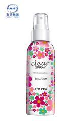 Scarico detergente viso spray detergente per acqua naturale Makeup per etichette private Compongono