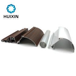 Nigeria la extrusión de perfiles de aluminio para rieles de cortina de la vía