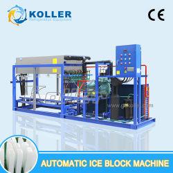 Máquina de bloco de gelo automática industrial com a rápida tomada de gelo para 3 toneladas por dia