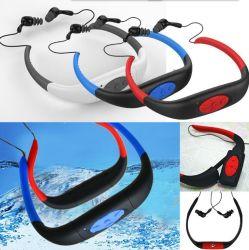 8GB de waterdichte RadioHoofdtelefoon van de FM van de Speler van Sporten MP3 voor het Zwemmen het Surfen het Duiken