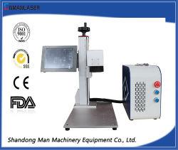 30W de marcado láser Máquina de grabado de ropa de la impresión de envases farmacéuticos/cerámica arquitectónica/envases de bebidas