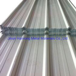 0,33 mm de la laminación en frío de Zinc corrugado tipo T Hoja del techo de aluminio