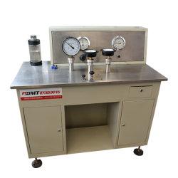 Étalonnage du manomètre de pression de la machine avec une grande qualité en acier inoxydable
