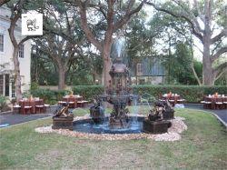 유럽 스타일의 정원 장식 야외 Bronze Fountains Bwfg-18