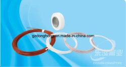 100% prodotti di plastica del tubo del collegare del Virgin PTFE, cavo di PTFE, collegare di PTFE