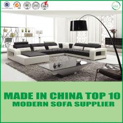 Base moderna do sofá do couro genuíno da HOME do projeto do lazer
