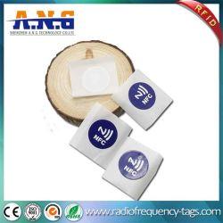 유지할 수 있는 임명, 믿을 수 있는 NFC Ntag213 칩을 편해지는 스티커에 의하여 인쇄되는 ID