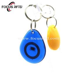 접근 제한을%s 풀그릴 NFC RFID Keyfob ID IC 지능적인 키
