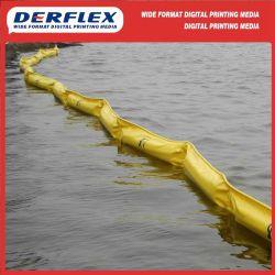 Hochwertiges PVC Vinyl beschichtetes Polyester-Gewebe für Ölboom-Barriere