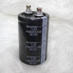 Аудио конденсатор 63 V 22000ОФ алюминиевые электролитические Capacitprs шпильку клеммы