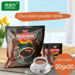 Beutel der Schokoladen-tadelloser sofortiger heiße Schokoladen-Mischungs-400g