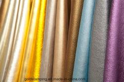 [م4] نوع ذهب لون حارّ [ستمب فويل] حرارة إنتقال رقيقة معدنيّة [ألومينوم فويل] على [بو] جلد بما أنّ حقيبة قماش
