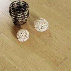 El cable del roble europeo y cepillado superficie barniz multicapa de roble de ingeniería y suelos de madera de teca piso