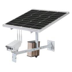 Marca Toesee resistente al agua de 2,0 MP Cámara IP inalámbrica 4G con 60W 30ah la energía solar CC12V Batería de litio un completo sistema de calidad muy buena